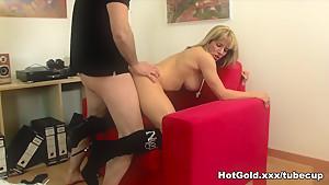 Best pornstar Ana Monte Real in Incredible Blonde, Big Tits sex scene