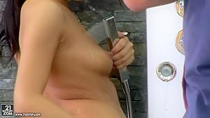 Bettina DiCapri and her girlfriend in lesbo sex