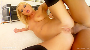 Angie Blond in mature milf gonzo porn scene from Milf Thing
