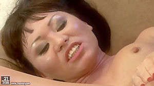 Sexy asian chick Selina is being fisted hard