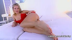 Hottest pornstar in Exotic Masturbation, Small Tits adult clip