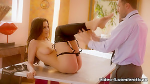 Crazy pornstars Lana Rhoades, James Deen in Hottest Lingerie, Foot Fetish xxx video