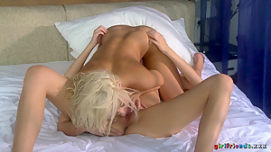 Incredible pornstars Eufrat, K.C. Williams in Amazing Romantic, Lesbian xxx clip
