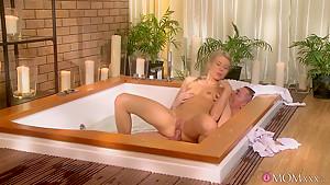 Exotic pornstars Adriana, Steve in Best Small Tits, Romantic sex clip
