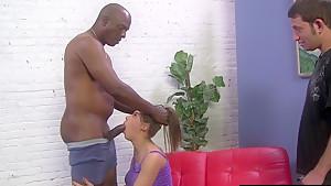 Poor Cuckold Watching Natasha Vega With Her Bull