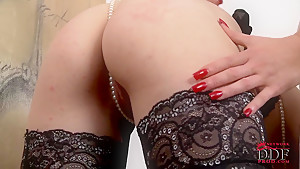 Crazy lesbian action with Paige aka Ruby Rubber and Sapphire