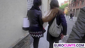 Two sexy euro sluts are in for a treat