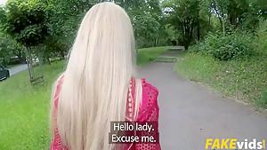 Isabella Clark In Blue Eyed Russian MILF Fucks Outdoors