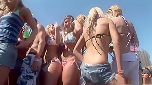 Crazy pornstar in amazing group sex, outdoor adult video