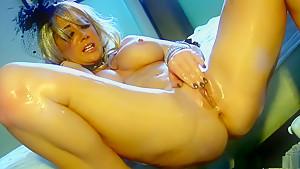 Best pornstar Jayden Jaymes in incredible dildos/toys, big tits xxx clip