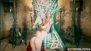 Ella Hughes And Rebecca Moore In Queen Of Thrones Part 4 A XXX Parody
