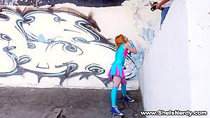 She Is Nerdy - Kira Roller - Nerdy redhead going slutty