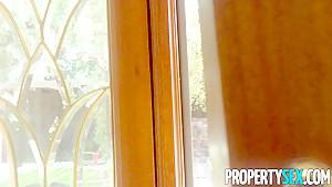 PropertySex French Babe Anissa Kate Nails Homeowner
