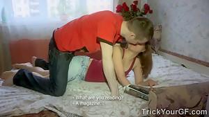 Trick Your GF - Rita Jalace - Perverted teen fantasy as a revenge