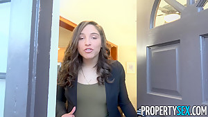 PropertySex College Student Fucks Thick Ass Abella Danger