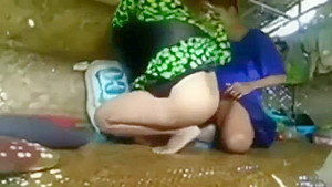 Indian Girl Fucking Boyfriend in a Hut
