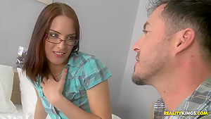 Small titted darling Lyen needs that hard pecker