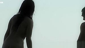 This Beautiful Nudist Woman Was Sunbathing On A Nude Beach