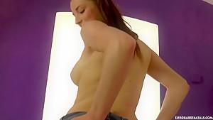 Good looking Czech slut Victoria Daniels is amazing