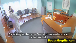 Euro 18yo creampied during doctors visit