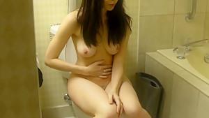 After sex bathroom