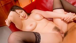 Fabulous Japanese slut Megumi Haruka in Incredible JAV uncensored Hardcore video
