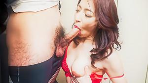 Exotic Japanese whore Marina Matsumoto in Horny JAV uncensored Lingerie clip