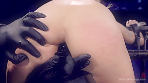 Big Tits Tormented in Demented Device
